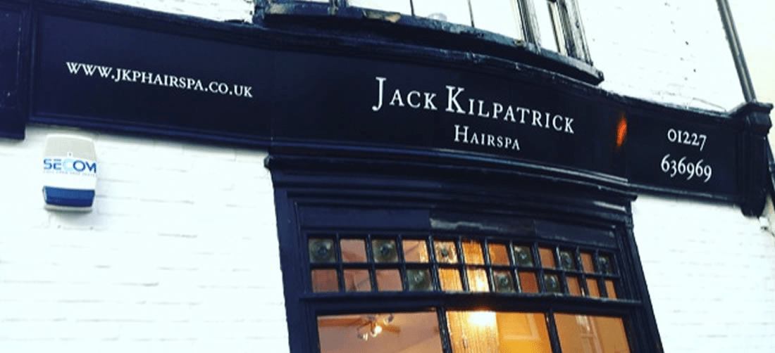 Local business: Jack Kilpatrick Hairspa, Canterbury Kent