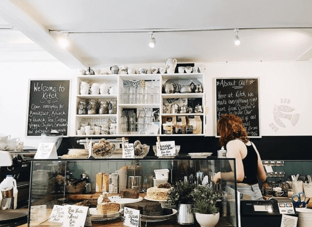 Kitch Cafe, a Canterbury local business
